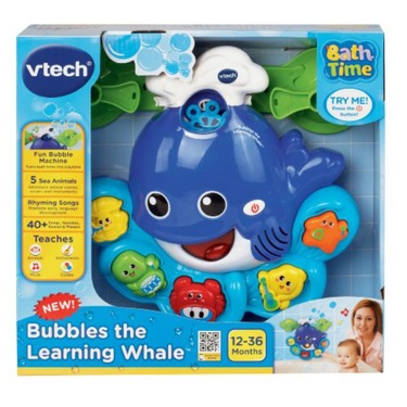 Vetch bubbles the learning whale