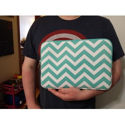 Mosiso Quatrefoil Laptop Sleeve (Chevron)