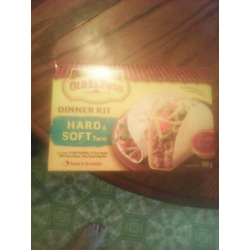 Old El Paso Dinnerkit Hard and Soft