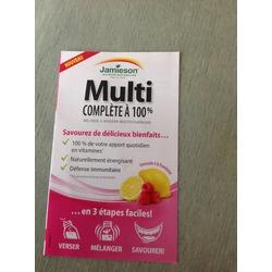 Jamieson Multi boisson vitaminique