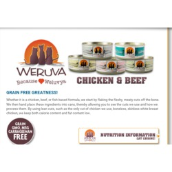 Weruva Chicken Formulas Cat Food