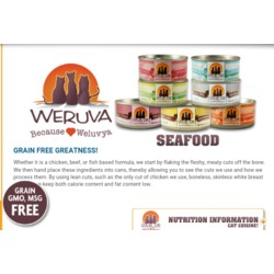 Weruva Cans Cat Food - Seafood