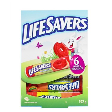 Lifesavers multicolored fun book