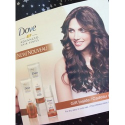 Dove Advanced Hair Series Quench Absolute products for Dry & Curly Hair