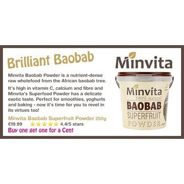 Minvita Baobab Superfruit Powder