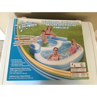 Summer escapes deluxe spa family pool
