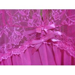 Avidlove Women Lingerie Lace Outfits Halter Babydoll Double Bowknot Chemise