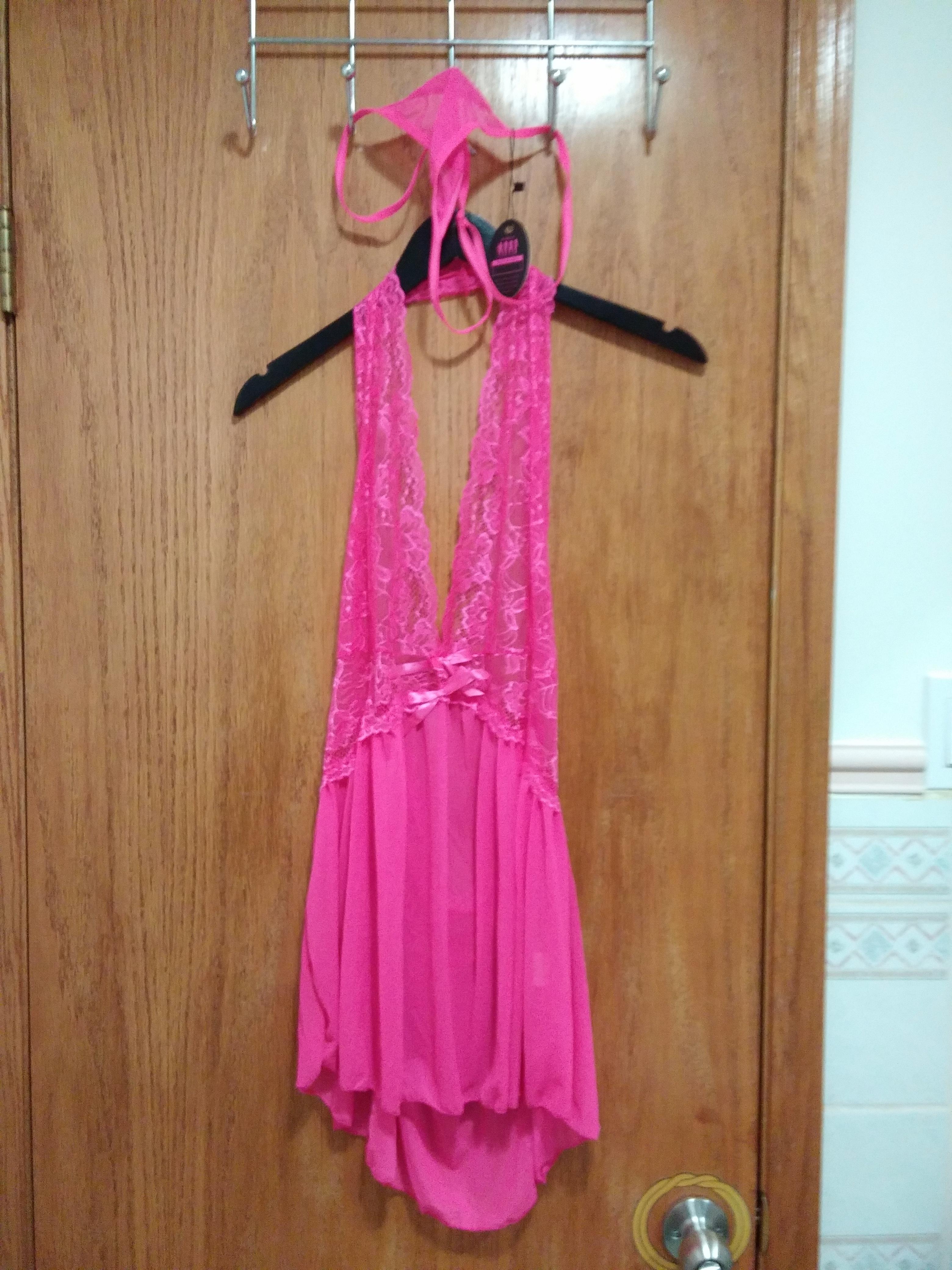 Avidlove Women Lingerie Lace Outfits Halter Babydoll