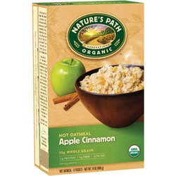 Nature's Path Oatmeal - Apple Cinnamon