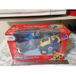 Sunshines Union Cartoon Race Remote Control Police Car