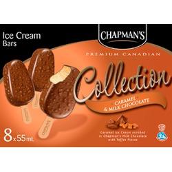 Chapman's Creme Caramel & Toffee Bars/Caramel/Milk Chocolate