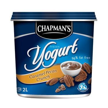 Chapman's Caramel Pecan Crunch Frozen Yogurt