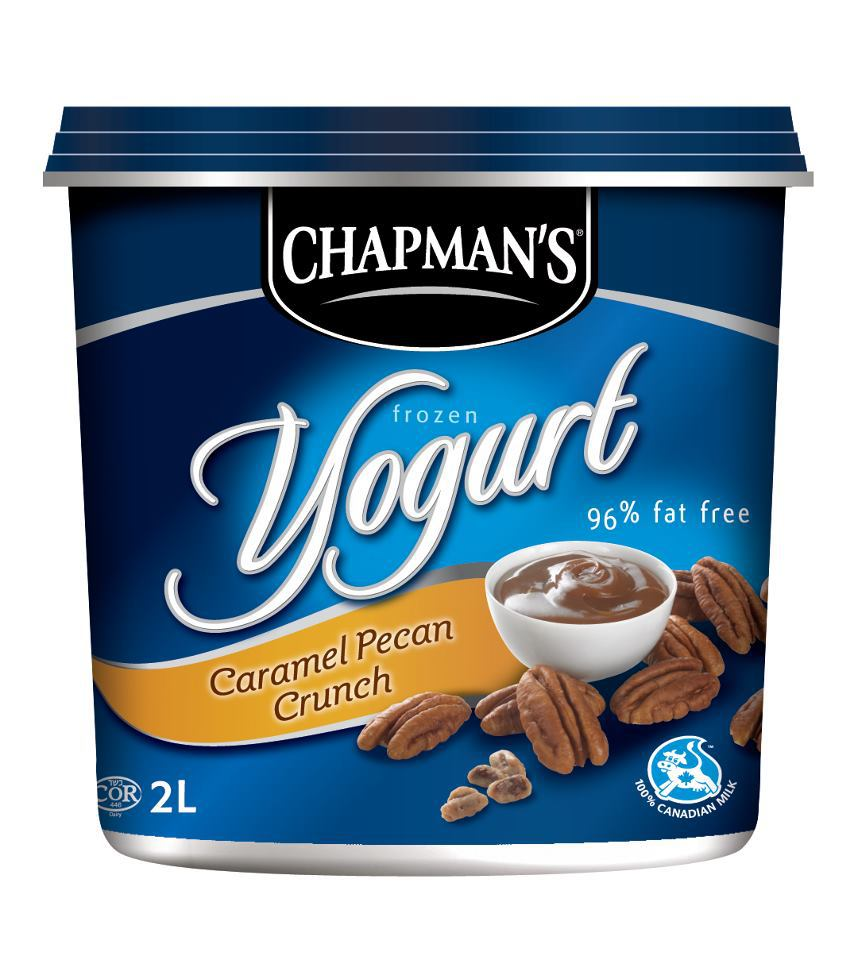 Chapman's Caramel Pecan Crunch Frozen Yogurt reviews in ...