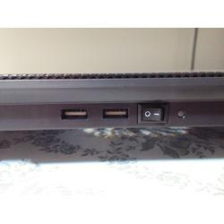 "HAVIT HV-F2065 15""-17""Ultra Slim Portable Laptop Cooler cooling pad with 3 Quiet Non-LED Fans"