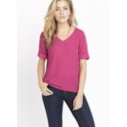 V-neck textured tee from Dynamite