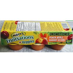 Motts fruitsations peach medley