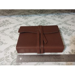 "Ferus+fivel Leather Bound Journal Notebook Diary with Wraparound Strap 5"" X 7"""
