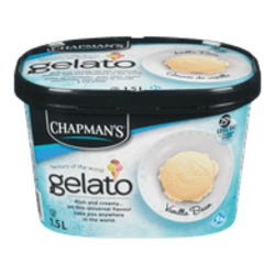 Chapman's Gelato Vanilla Bean