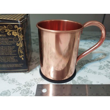 Krown Kitchen - 100% solid moscow mule copper mug