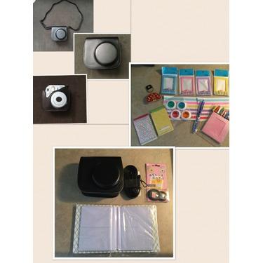 Wisagi fujifilm instax mini 8/8 plus camera accessories bundle in black
