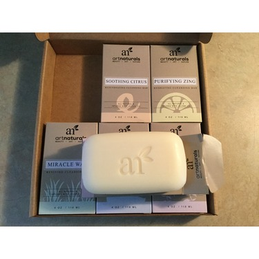 Art Naturals 6 Piece Soap Bar Set