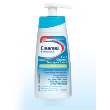 Clearasil Stayclear 3-in-1 Cleanser