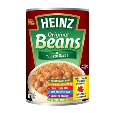 Heinz canned beans
