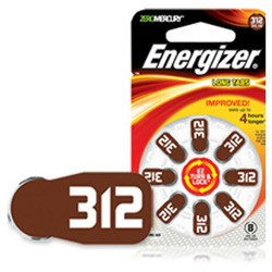 Energizer Batteries 312