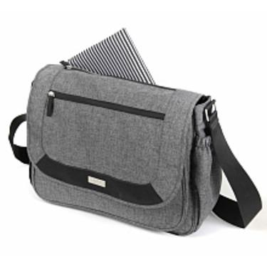 Baby Innovations Urban Moda Messenger Bag - Grey