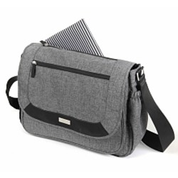 Baby Innovations Urban Moda Messenger Bag - Grey