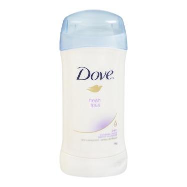 Dove® Fresh Invisible  Solid Antiperspirant