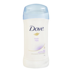 Dove® Fresh Invisible  Solid Antiperspirant