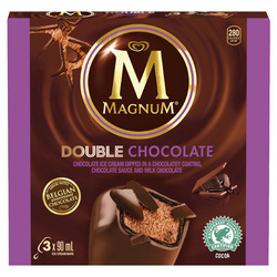 Magnum Double Chocolate Ice Cream Bars