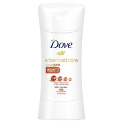 Dove® Advanced Care Clear Tone  Skin Renew Antiperspirant