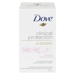 Dove® Clinical Protection Powder Soft Antiperspirant