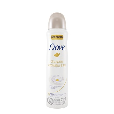 Dove® Soothing Chamomile Dry Spray Antiperspirant