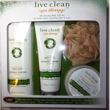Live Clean Spa Therapy Body Butter