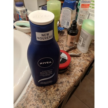 NIVEA Creme Care All-in-One Facial Cleansing Lotion