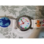 Macoon children's wrist watch - world peace design