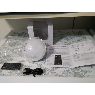 EchoAcc® LED Magic Color Changing Crystal Bluetooth speaker