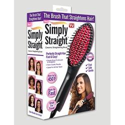 Simply Straight Hair Straightener Brush