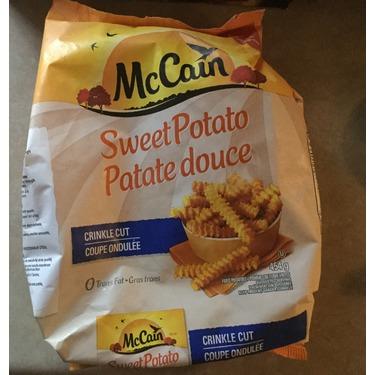 McCain sweet potato crinkle cut