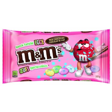 M&M;'s speck-tacular eggs