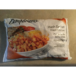 Compliments hash browns
