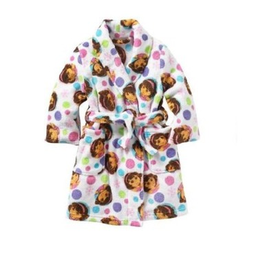 Children's Dora bath robe
