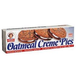 Little Debbie oatmeal creme pies