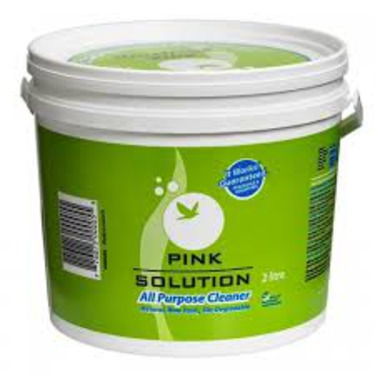 Pink Solution all purpose cleaner