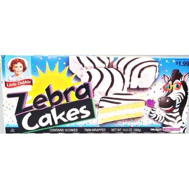 Little Debbie Zebra Cakes Review