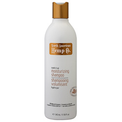 North American Hemp Co. soak it up moisturizing shampoo and conditioner