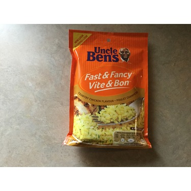 Uncle bens fast & fancy country chicken flavour